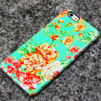 iPhone 6 Case Floral iPhone 6 plus Case Peonies iPhone 5S 5 iPhone 5C iPhone 4S/4 Case Samsung Galaxy S6 edge S6 S5 S4 S3 Note 3 Case- 019