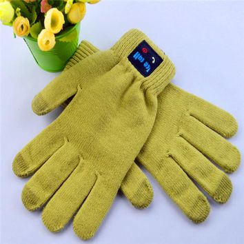 Bluetooth Glove Hand Gesture Creative Answer The Phone Bluetooth Touched Screen Gloves