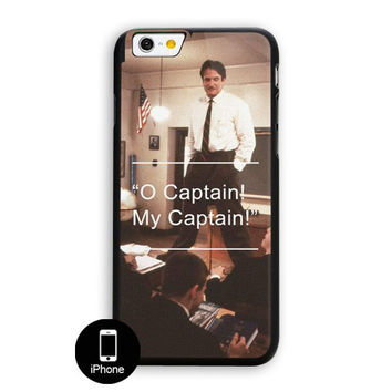 Robin Williams Dead Poets Society iPhone 6 Plus Case