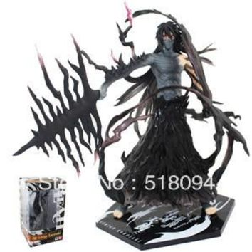 "Japanese Anime Cartoon Cool 7"" Bleach Kurosaki Ichigo PVC Action Figure Collection Model Christmas Gifts Free Shipping"