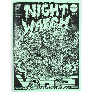 Night Watch Zine #11 - The VHS Issue