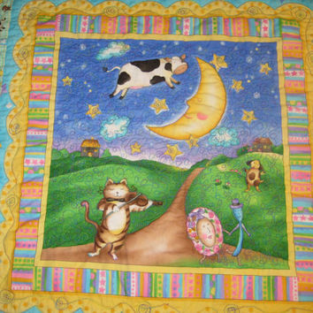 Baby Quilt Crib Quilt Nursery Wall Hanging