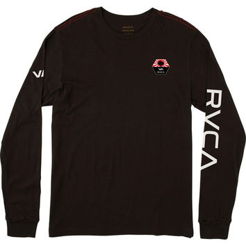 Bruce Irons Long Sleeve T-Shirt | RVCA