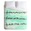 Belle13 Musical Nature Duvet Cover