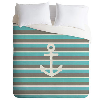Bianca Green Anchor 1 Duvet Cover