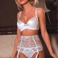 Fifii Push Up Bra In White by Roza Lingerie