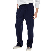 Champion Mens Open-Bottom Jersey Sweatpant - Walmart.com