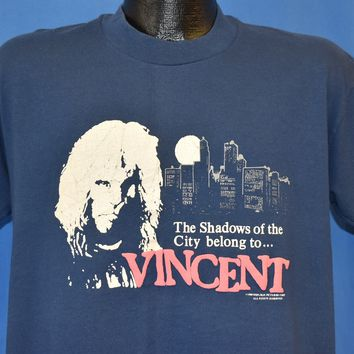 80s Beauty and the Beast TV Show Vincent t-shirt Large