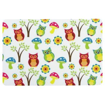 Owl Be There Floor Mat