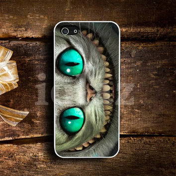 cheshire cat smile alice in wonderland Design mobile Phone case