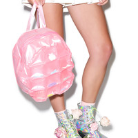 Dolls Kill Bubble Pop Mini Backpack Pink One