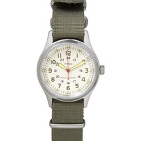 Timex x J.Crew - Timex Vintage Army Steel Watch | MR PORTER