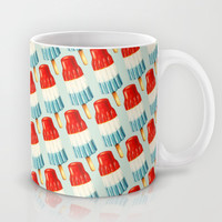 Bomp Pop Pattern Mug by Kelly Gilleran