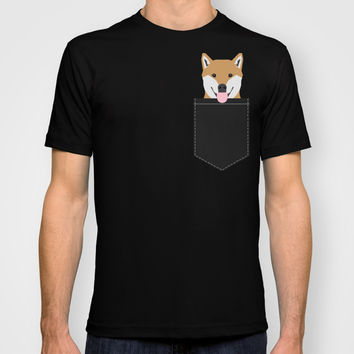 Indiana - Shiba Inu gift design for dog lovers and dog people T-shirt by PetFriendly | Society6