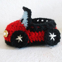 CROCHET PATTERN Toddler Size Car 4 sizes 13 by CrochetPatterns1