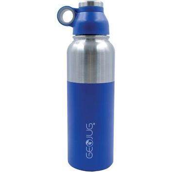 Brentwood Appliances G-1040BL 40-Ounce Stainless Steel Vacuum-Insulated Water Bottle (Blue)