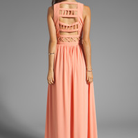 Lovers + Friends Calling You Maxi Dress in Coral from REVOLVEclothing.com