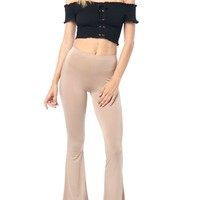 Basic Soft Flared Pants