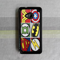 HTC One M7 case , HTC One M8 case , HTC case , htc one case , htc one m7 , htc one m8 , The Avengers