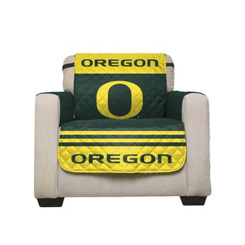 Oregon Ducks Home Game Reversible Chair Cover