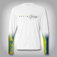 Yellowfin Tuna Scale Sleeve Shirt -  SurfMonkey - Performance Shirts - Fishing Shirt