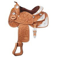 Silver Star Show Saddle - Western Tack - Tack