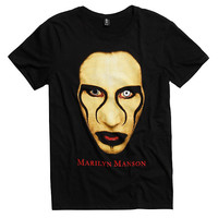 Marilyn Manson Close Up T-Shirt