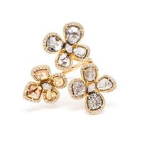 SAQQARA | Sliced Diamond Meadow Ring | Browns fashion & designer clothes & clothing