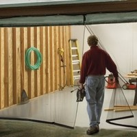 IdeaWorks Instant Garage Screen Door-Double