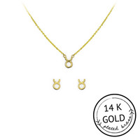 Taurus Necklace & Earring Set