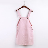 Harajuku Pastel Pocket Dress