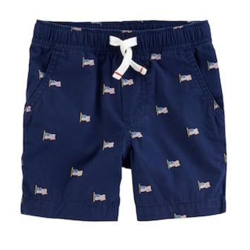 Toddler Boys Carter's Flag Shorts | null