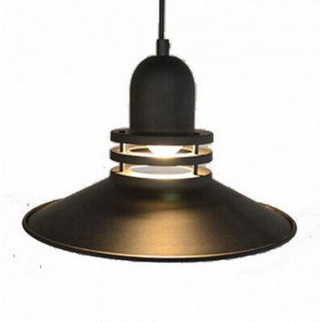 Concise modern fashional 1 light bar restaurant countryside industrial LOHAS pendant lamp light
