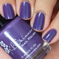 The Grape Beyond Satin Matte Nail Polish
