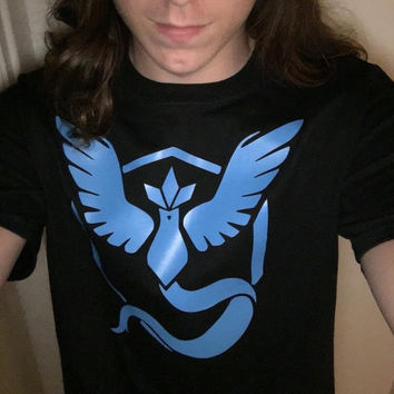 Pokémon Go Team Mystic Shirt
