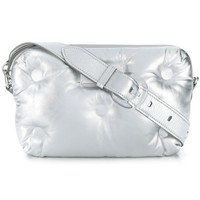 Silver Metallic Unisex Clutch by Maison Margiela