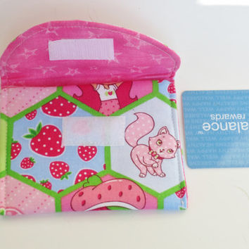 Strawberry Shortcake - Wallet - Business card case - Cash debit card case