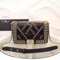 CHANEL Black Women Fashion Hand Bags