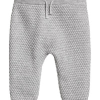Textured-knit Pants - from H&M