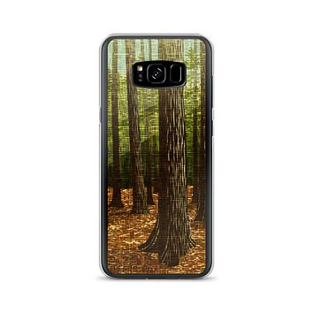 The Forest Tall Trees Samsung Case