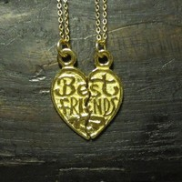 My Bestie Necklace Set by charlieandmarcelle on Etsy