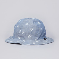 Flatspot - Fourstar Anderson Bolt Bucket Hat Blue
