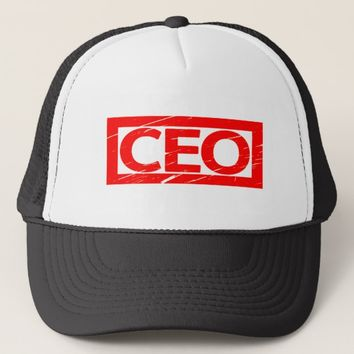 CEO Stamp Trucker Hat