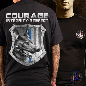 Courage Integrity Respect K9