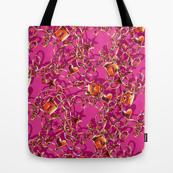 Glam Tack Tote Bag by Aimee St Hill