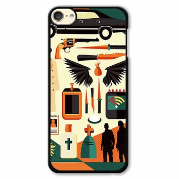 Supernatural Collage Art iPod Touch 6 Case