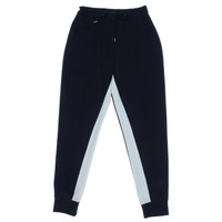 French Connection Womens Knit Contrast Trim Jogger Pants
