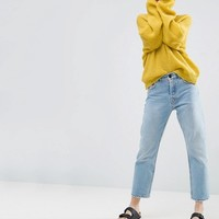 ASOS Chunky Sweater Twist Back at asos.com