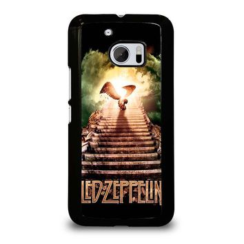 LED ZEPPELIN STAIRWAY TO HEAVEN  HTC One M10 Case Cover