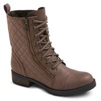 Women's Mossimo Supply Co Carmen Quilted Ankle Combat Boots
